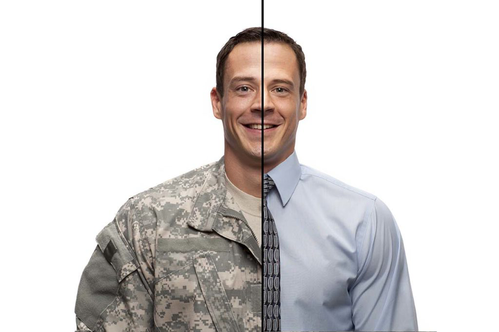 CREATE A RESUME WITH ALL THE MILITARY EXPERIENCE